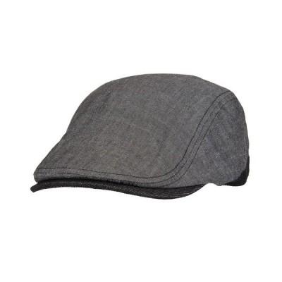 リーバイス 帽子 アクセサリー メンズ Men's Flat Top Adjustable Ivy Hat Charcoal