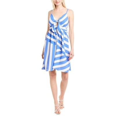 サウザーンロック ワンピース トップス レディース SOUTHERN fROCK Bea A-Line Dress harbor blue stripe