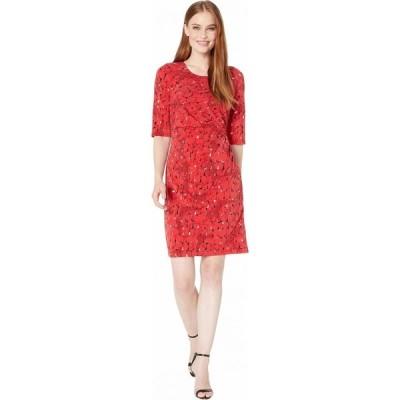 ニックゾー NIC+ZOE レディース ワンピース ワンピース・ドレス Stony Path Drape Dress Multi