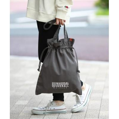 THE SHOP TK(Men)(ザ ショップ ティーケー(メンズ)) UNIVERSAL OVERALL/ユニバーサルオーバーオール別注2WYA巾着バッグ