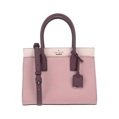 ケイト・スペード ニューヨーク KATE SPADE New York ハンドバッグ ピンク 牛革 100% ハンドバッグ