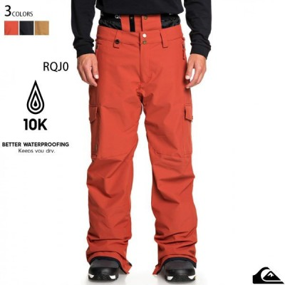【値下げしました!】スノーボード ウェア メンズ パンツ クイックシルバー ブランド スキーウェア