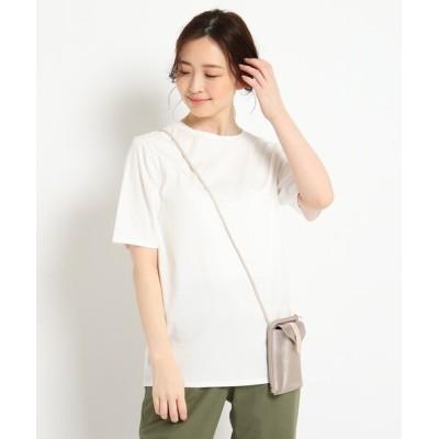 Reflect / 【ミモレ掲載/洗える】オーバーサイズTシャツ WOMEN トップス > Tシャツ/カットソー