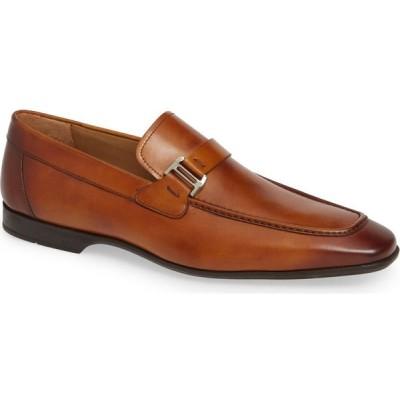 マグナーニ MAGNANNI メンズ ローファー シューズ・靴 'Lino' Loafer Brown Leather