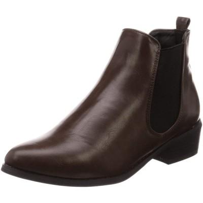 [リバティー ドール] サイドゴア ブーツ 5448 レディース ダークブラウン LL(24.5 cm)