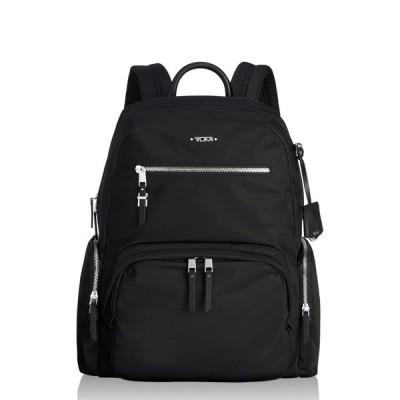 トゥミ TUMI ユニセックス バックパック・リュック バッグ Voyager Carson Nylon Backpack Black/Silver